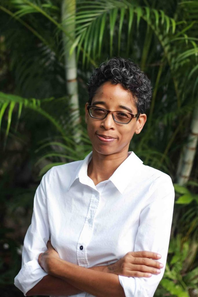 One of the two essays in So Many Islands is by Tracy Assing, who wrote on her Santa Rosa Carib ancestry. PHOTO COURTESY Gesiye Souza-Okpofabri
