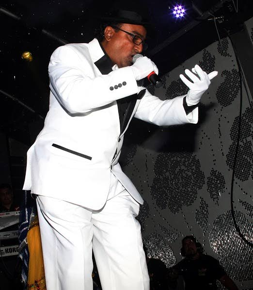 NERMAL 'Massive' Gosein performs 'Rowlee Mudder Count' in Saturday night's Chutney Soca Monarch semi-finals held at Liv Night Club in La Romaine.