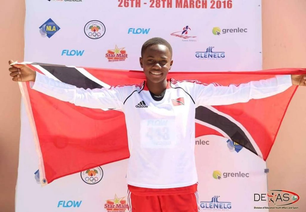 Asha James of Cannan Tobago is the only player on the national U20 Women's squad that faces Haiti today at the Ato Boldon Stadium,Couva. Kick-off is at 6.30pm.