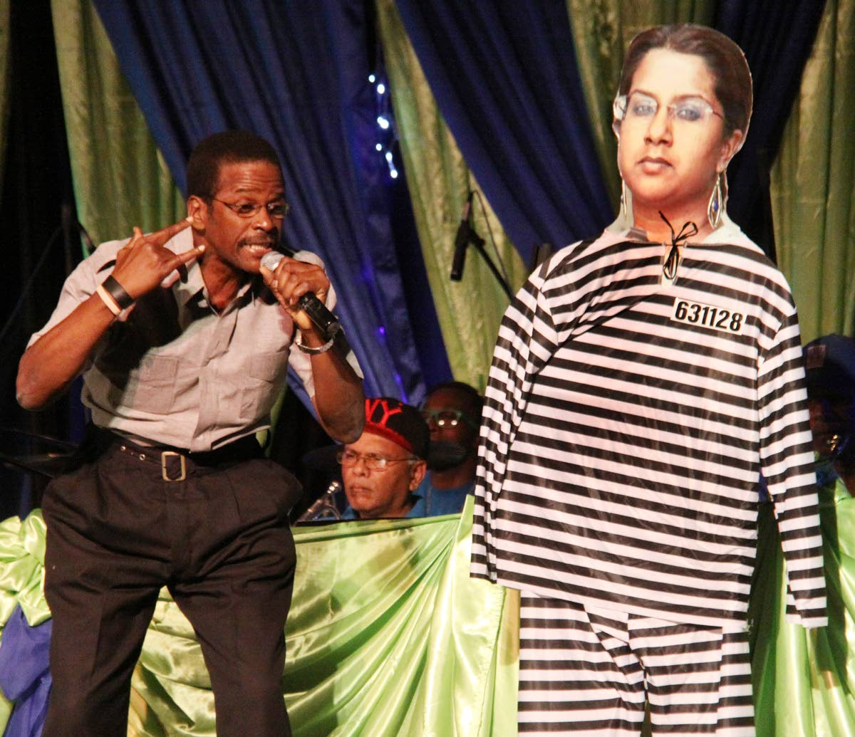 INSEPARABLE: Bonnie B performs Inseparable at the opening of Kaiso House, Park Street, Port of Spain. PHOTO BY ANGELO MARCELLE
