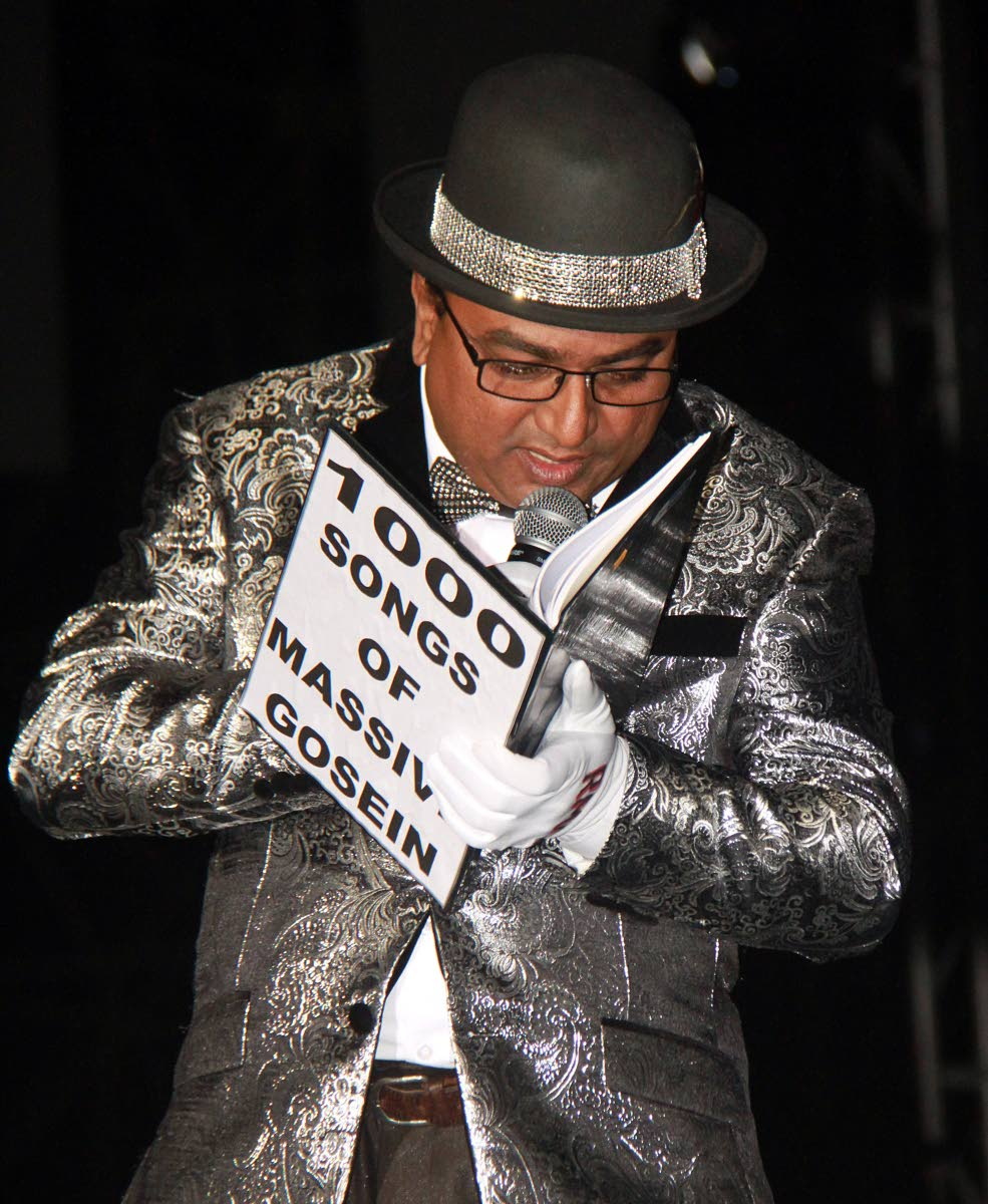 """Upset over his third place in Saturday's Chutney Soca Monarch competition at Skinner Park, San Fernando, Nermal """"Massive"""" Gosein is vowing never to take part again."""