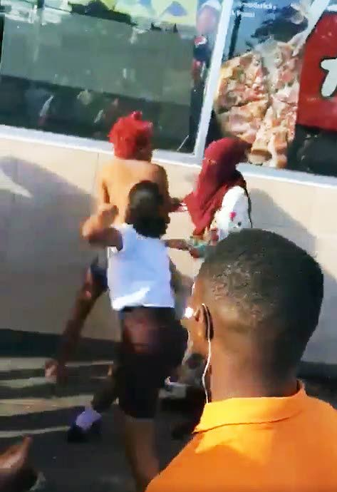 Boys caught wanking mall