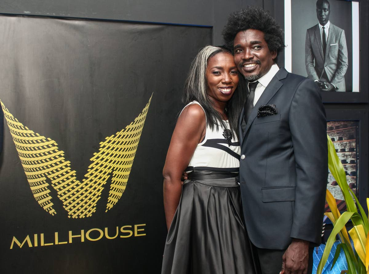 DYNAMIC DUO: Gregory Mills and wife Coline Baptiste-Mills.