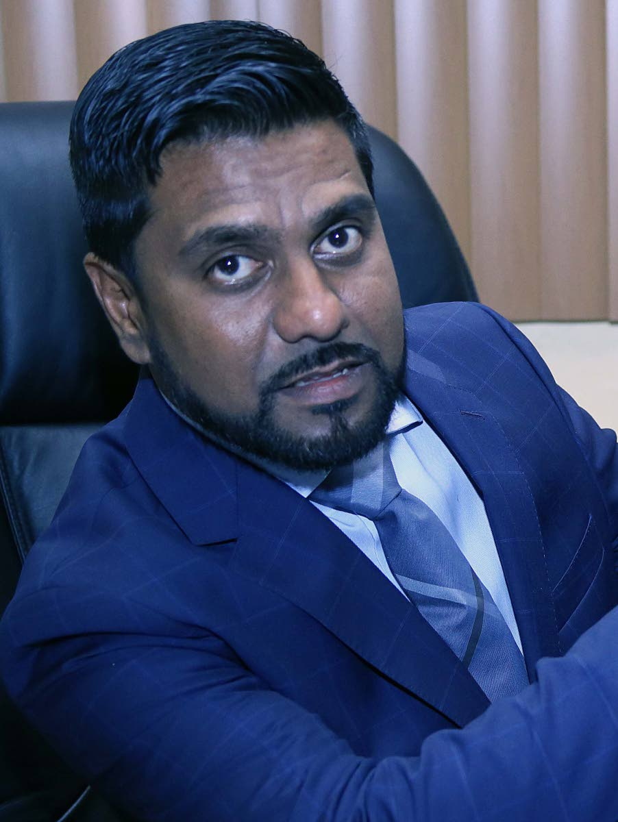 Attorney Gerald Ramdeen. FILE PHOTO