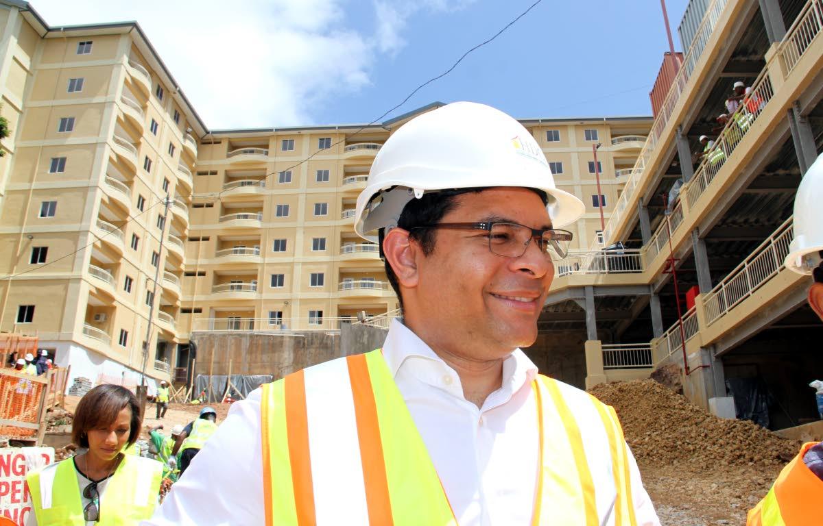 Housing Minister Randall Mitchell