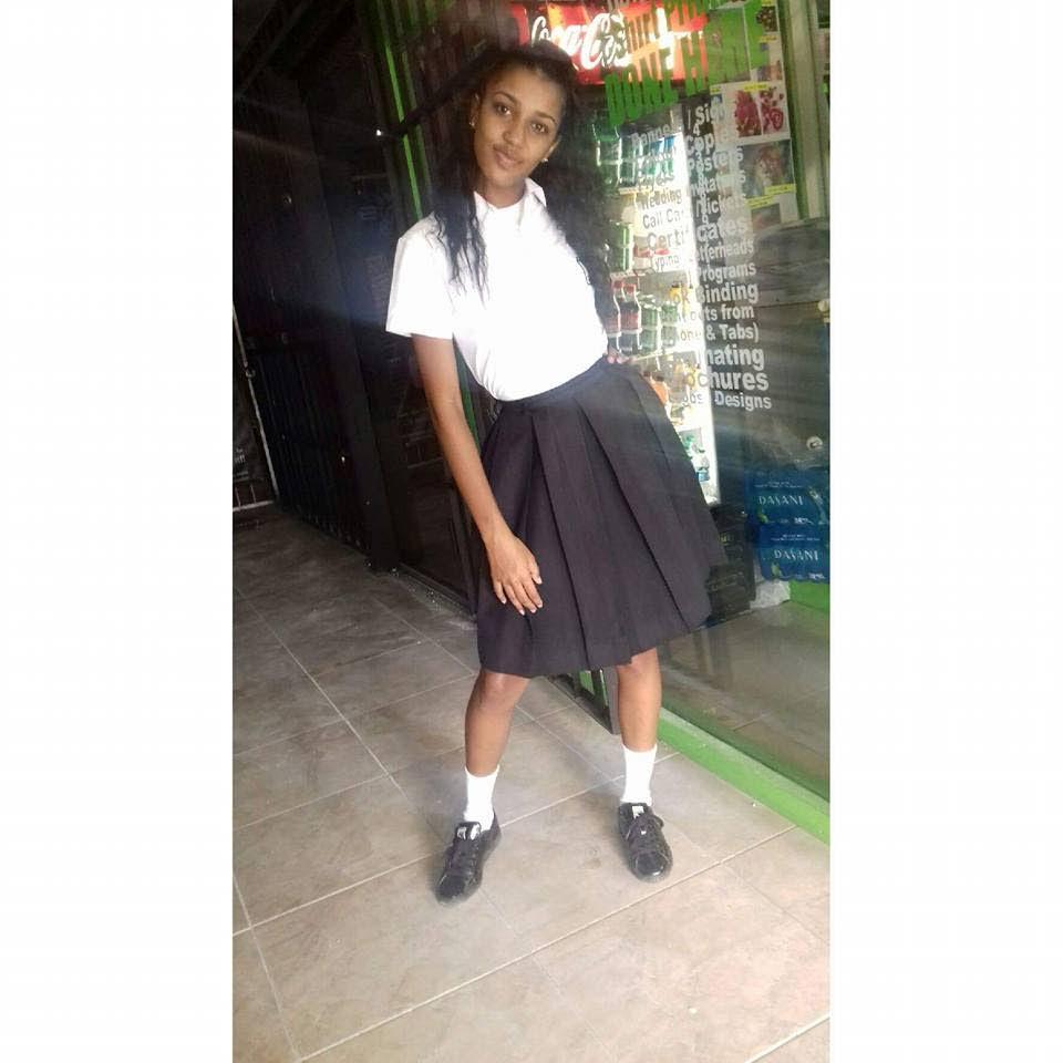 Schoolgirl Rachael Ramkissoon, murdered last year. Her killer is still at large.