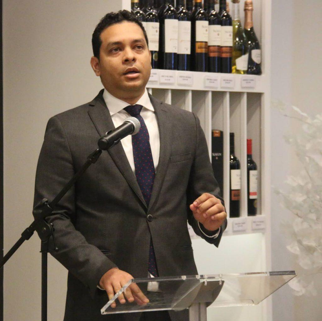 Tourism Minister Randall Mitchell.