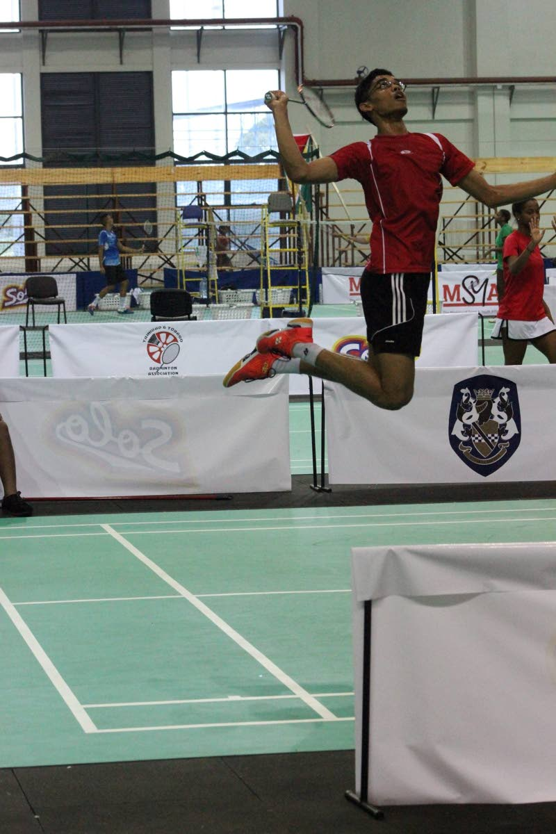 Badminton will take centre stage for the next couple weeks at the National Racquet Centre in Tacarigua.