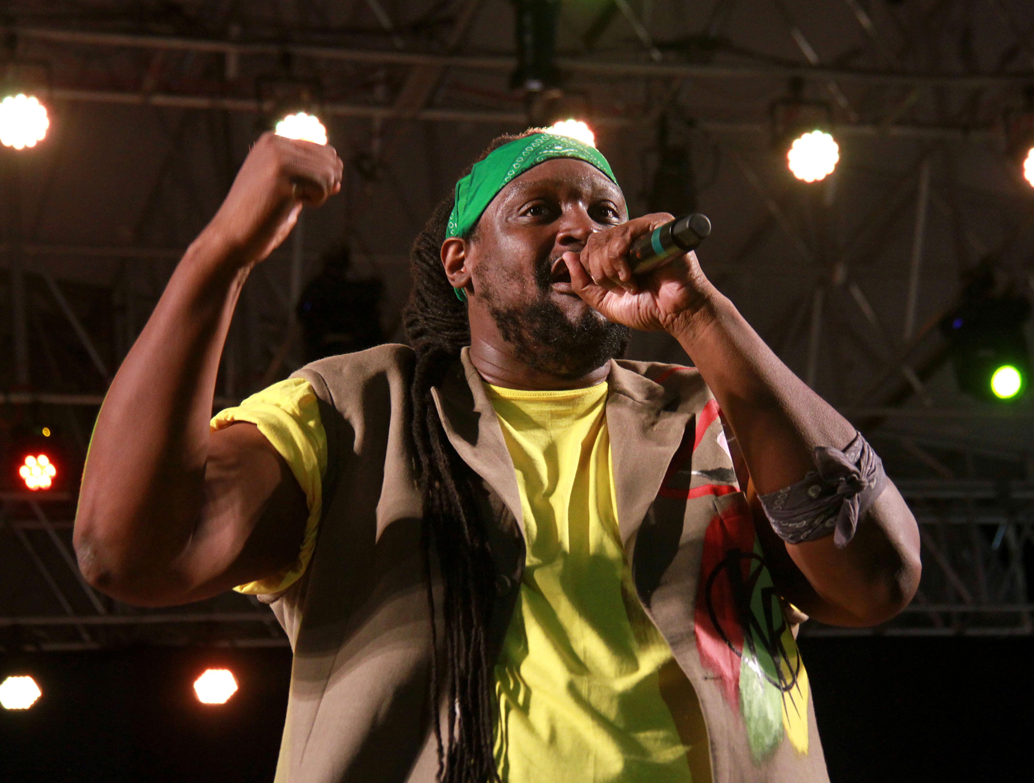 File photo: Selvon Noel performing at Calypso Fiesta Skinner Park, San Fernando. PHOTO BY ANIL RAMPERSAD.