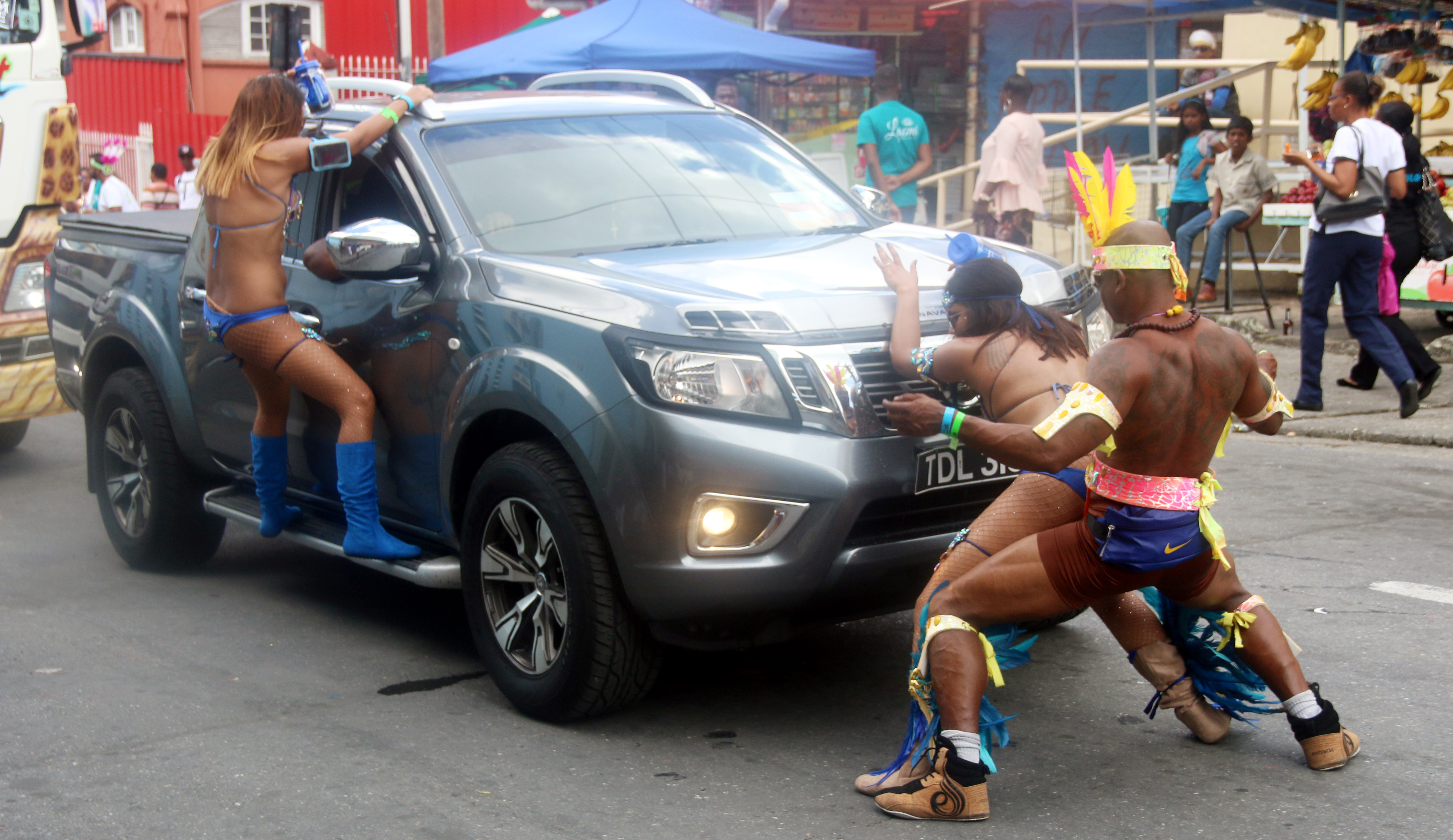 File photo: Kalicharan Carnival on the streets of San Fernando on Carnival Tuesday PHOTO BY: ANSEL JEBODH