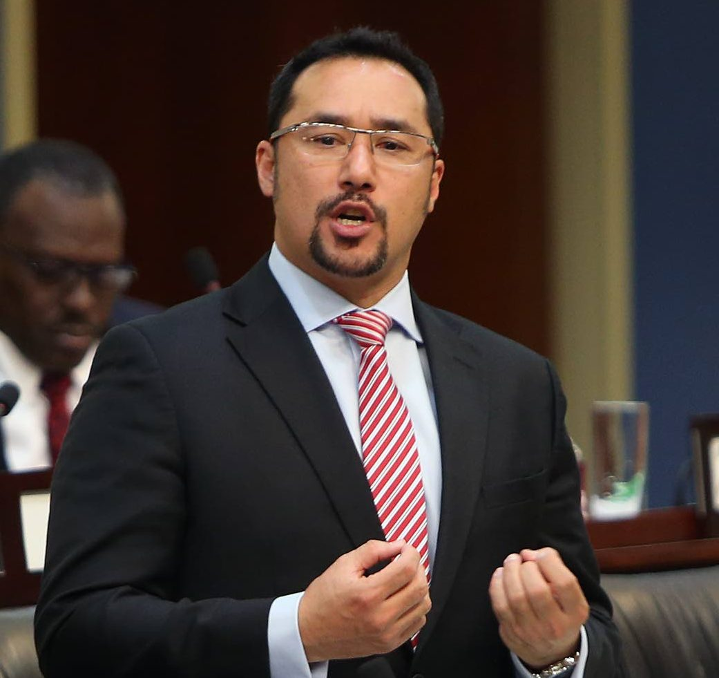 Minister of National Security Stuart Young.