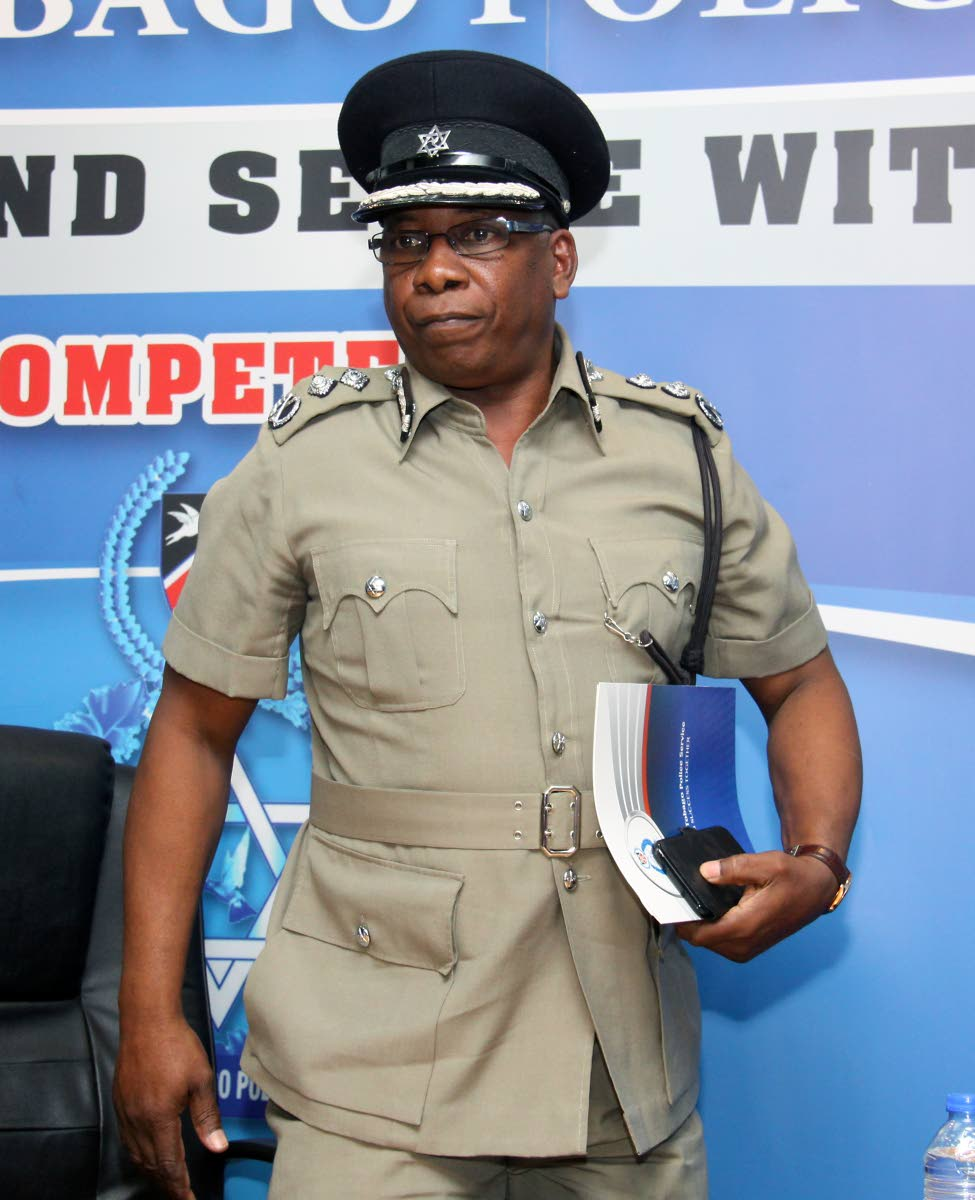 Acting Commissioner of Police Stephen Williams.