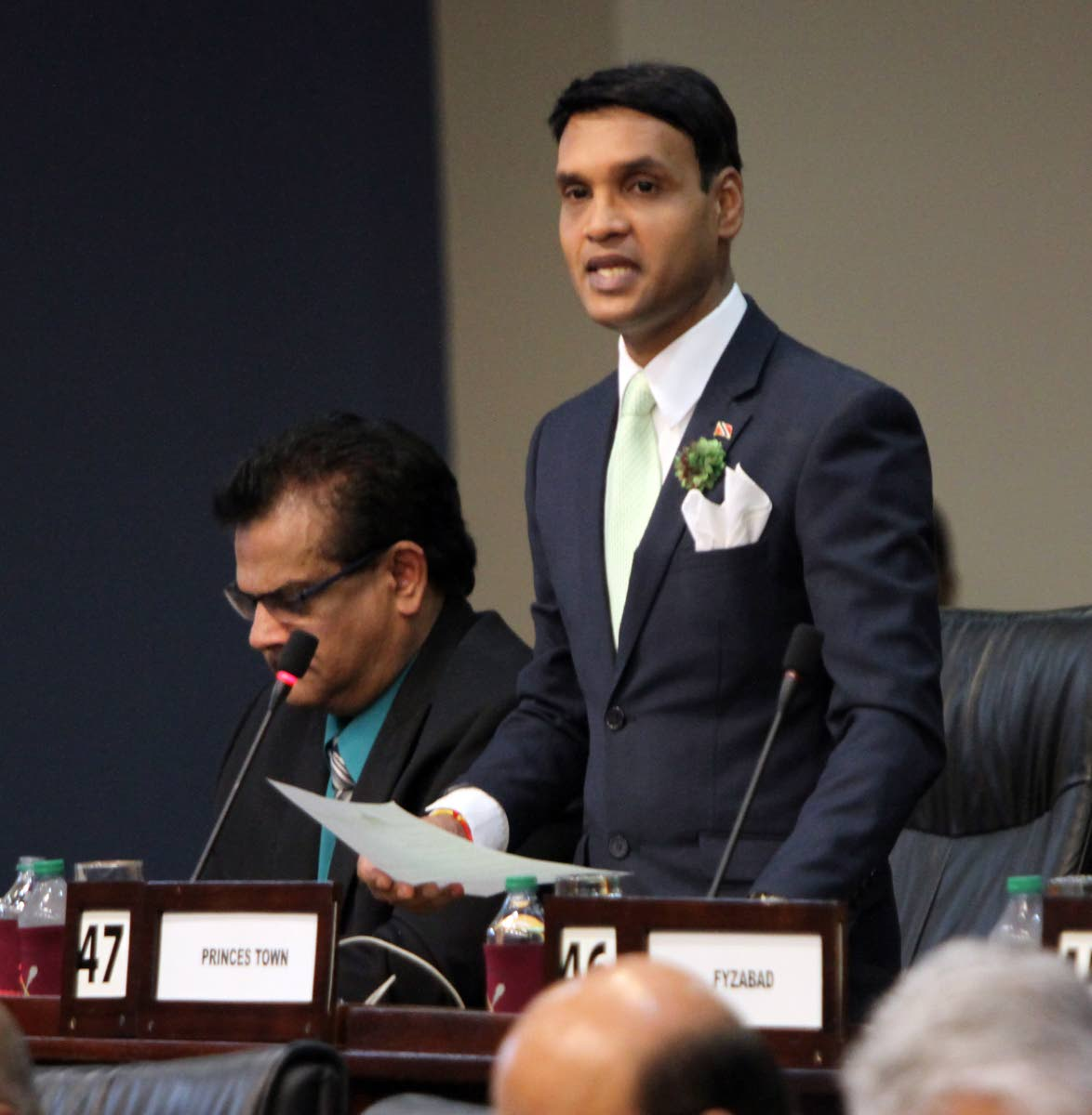 Princes Town MP Barry Padarath