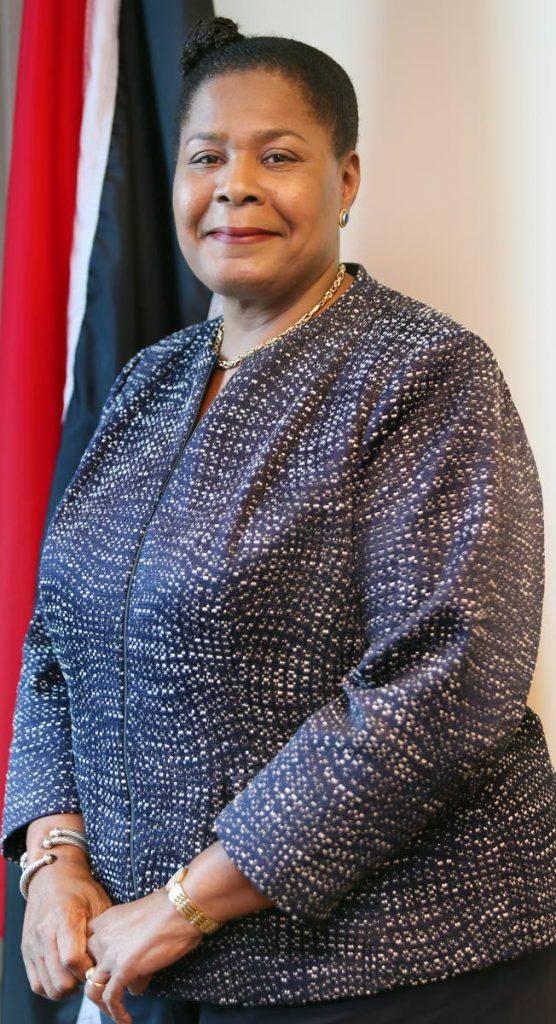 President elect Paula Mae - Weekes