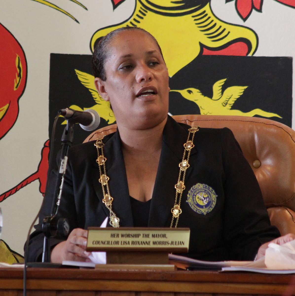Arima Mayor Lisa Morris-Julien