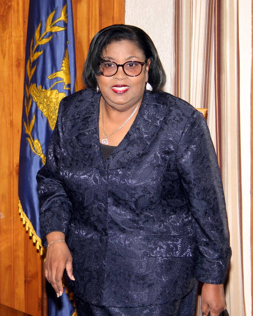 Minister in the Ministry of Public Administration and Communications Marlene McDonald.