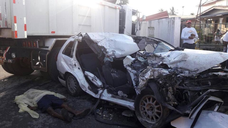 Afternoon traffic accident kills labourer
