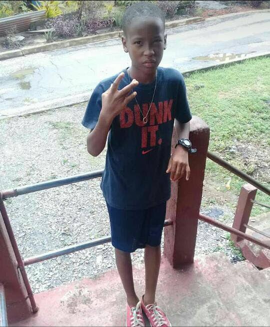 Kershaun Dillouin, 11, died on Friday