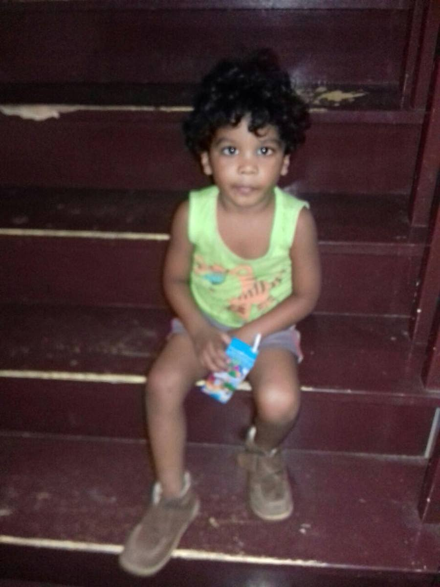 KNOW THIS CHILD?: The boy who was found in an abandoned house in Chaguanas and who gave his name as Malik de Freitas.