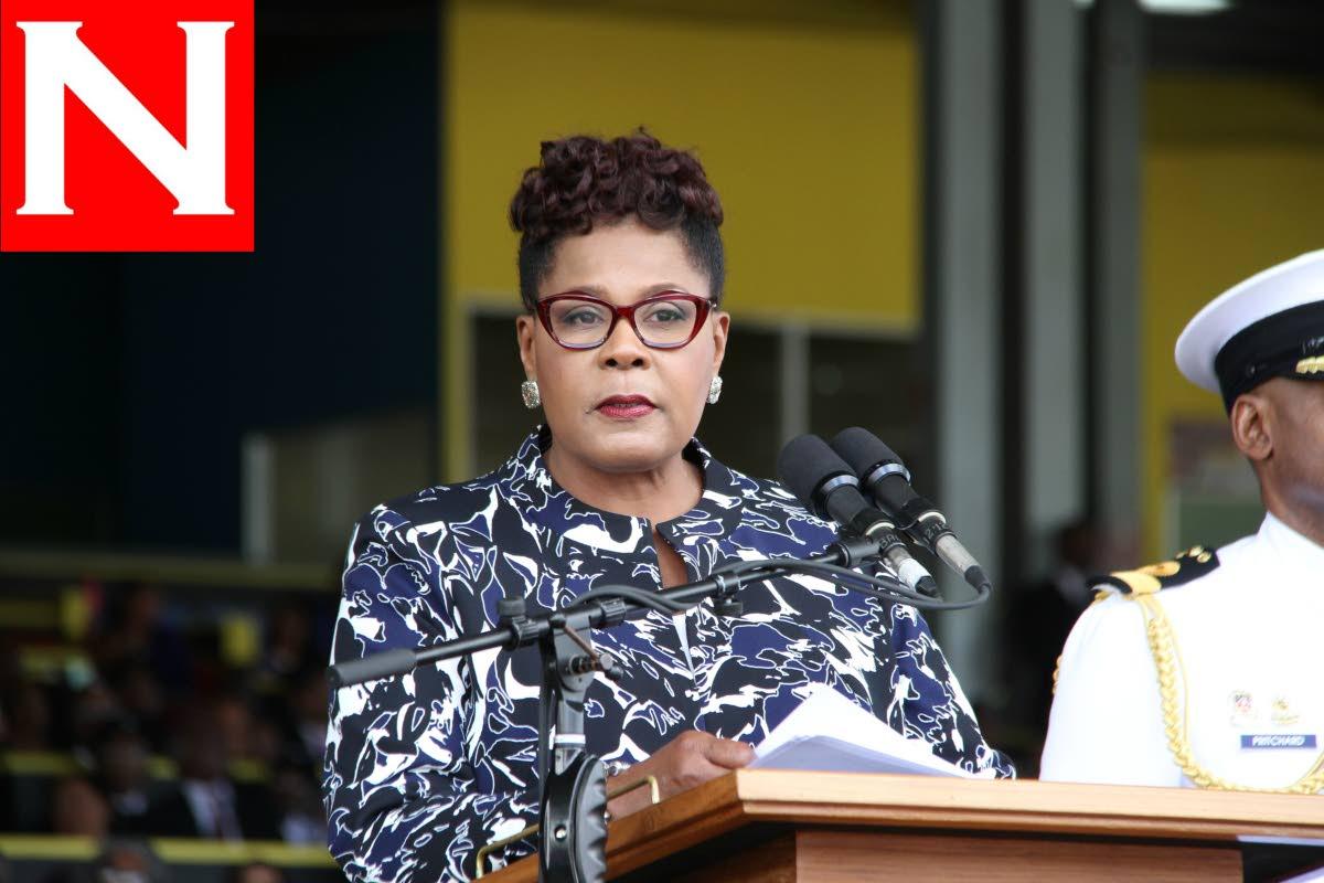 President Paulla-Mae Weekes, the sixth president of the Republic of TT.