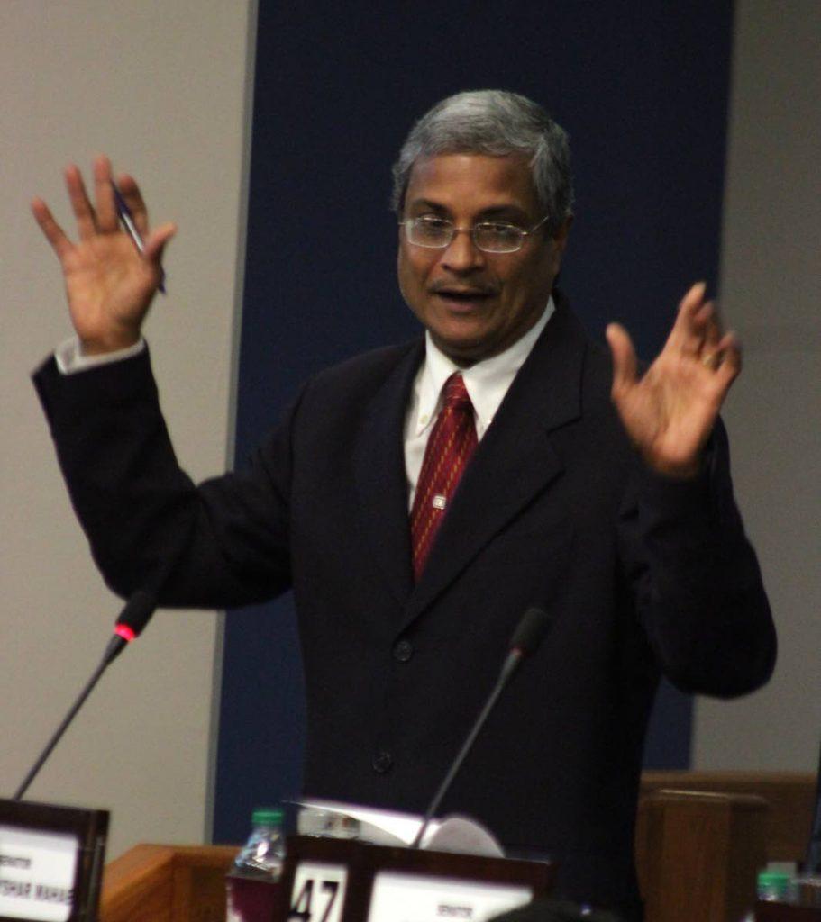 Independent Senator Dhanayshar Mahabir.
