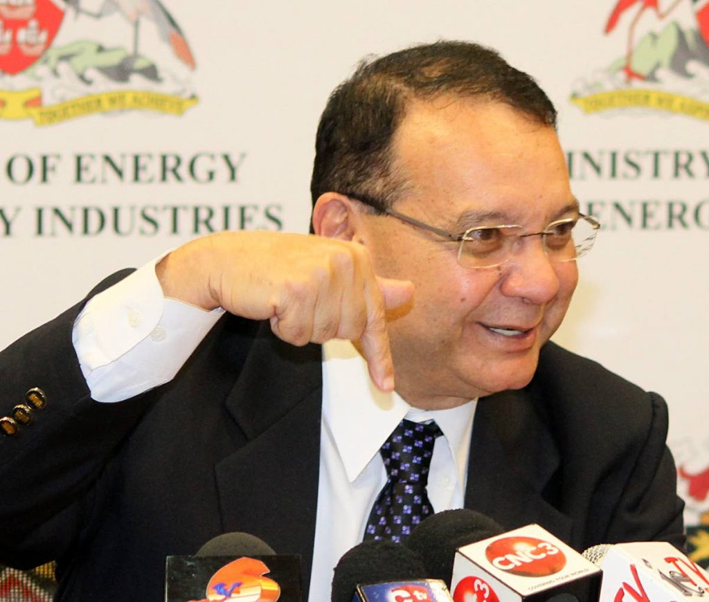 Minister of Energy and Energy Industries Franklin Khan. FILE PHOTO
