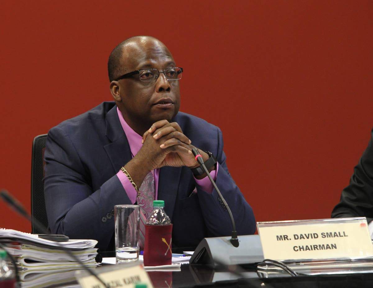 David Small, chairman of the JSC on State Enterprises, which met on Monday.