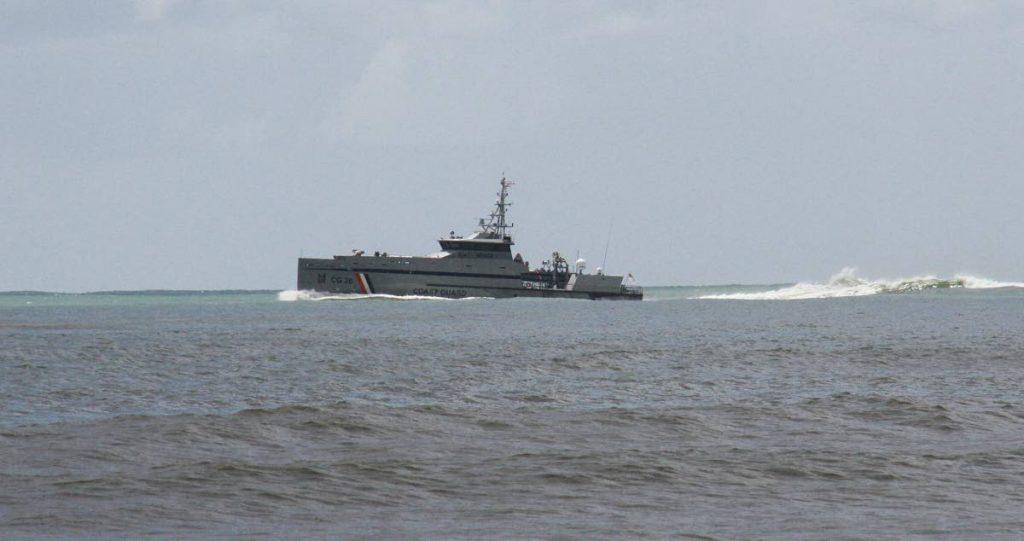 File photo: Coast Guard vessel