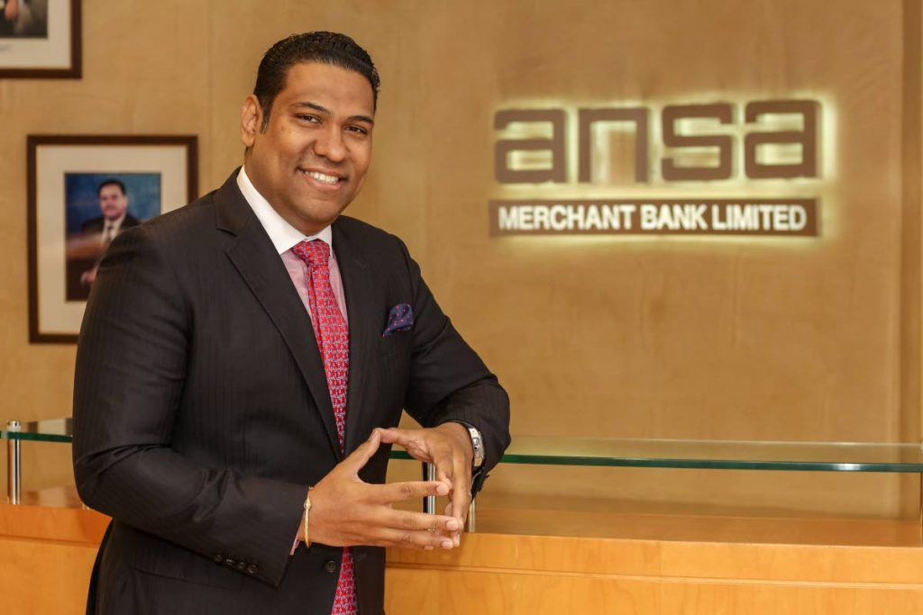Gregory Hill, as managing director.  is leading ANSA Merchnt Bank Ltd's expansion plans.