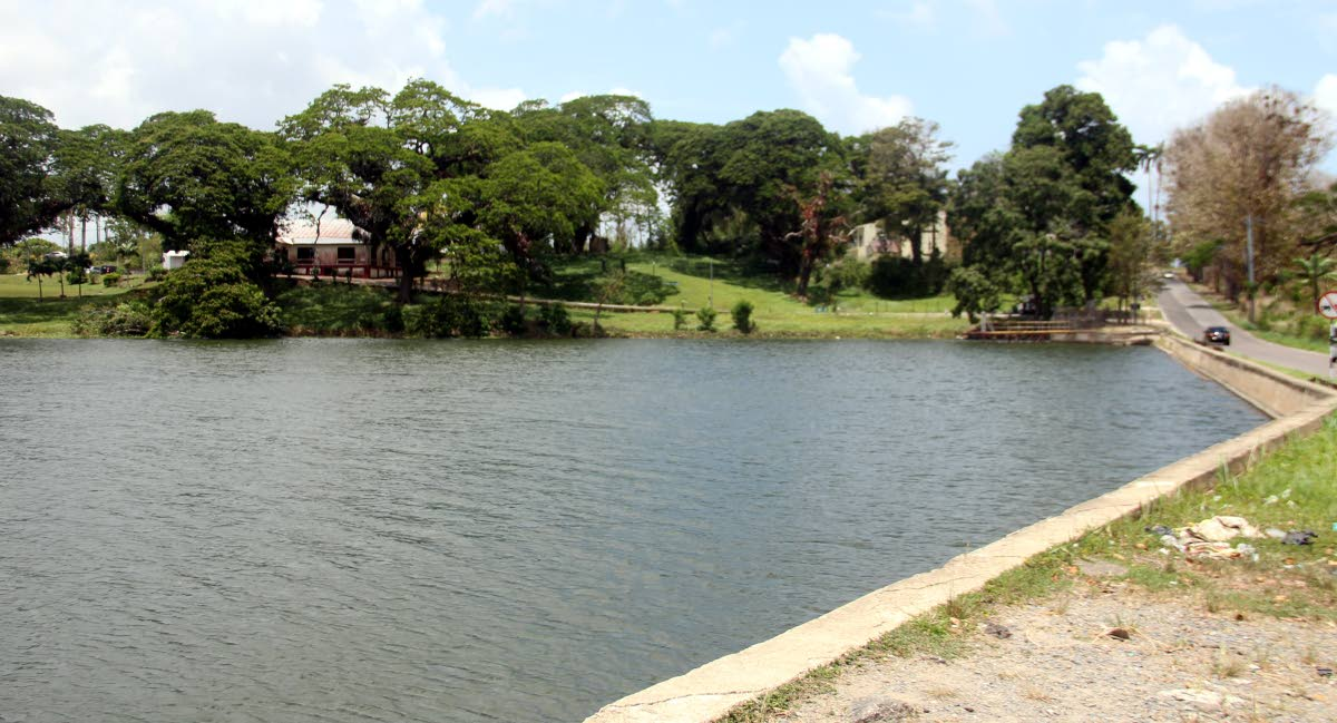 POSSIBLE TOURIST SITE: The Usine Ste Madeleine pond where four bodies were found within the last three years.   PHOTO BY ANSEL JEBODH