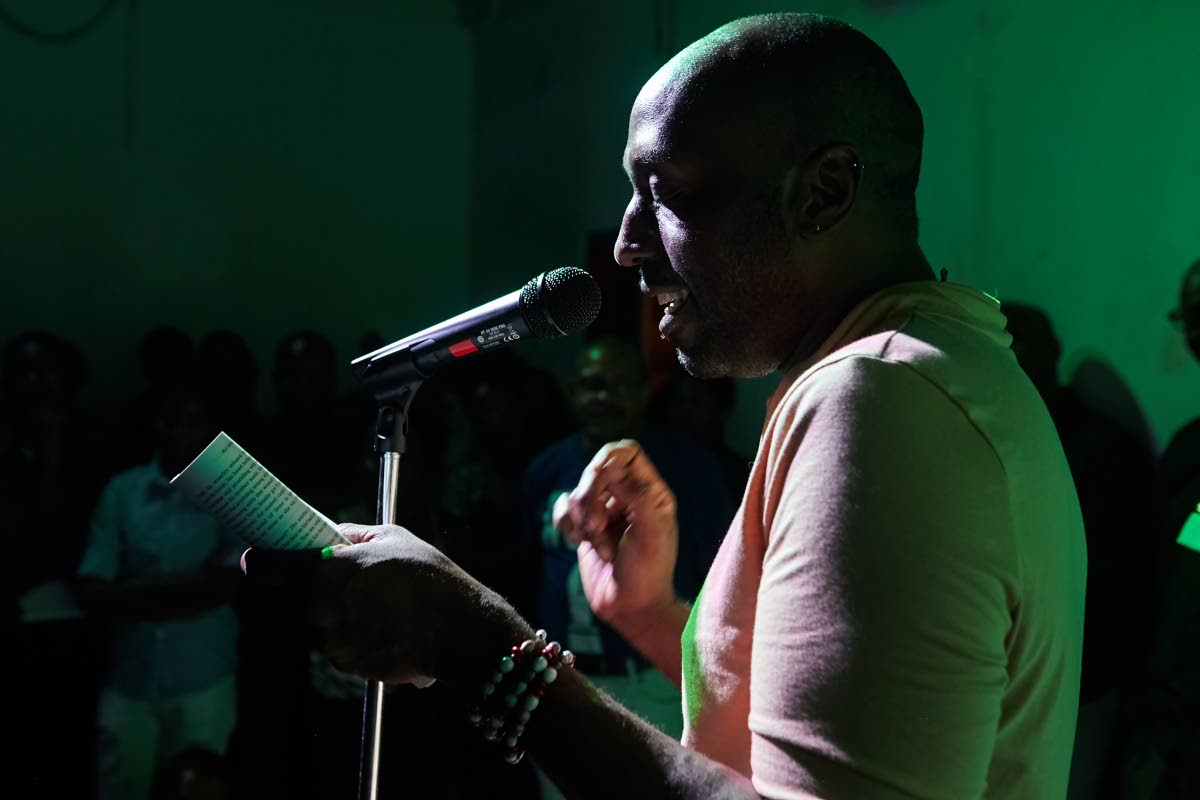 Jamaican author Kei Miller reads his short story,