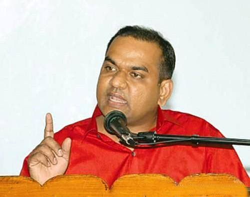 President general of the All Trinidad General Workers  Trade Union Nirvan Maharaj.