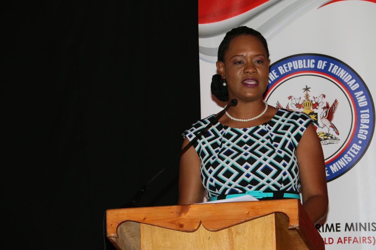 minister ayana webster - roy
