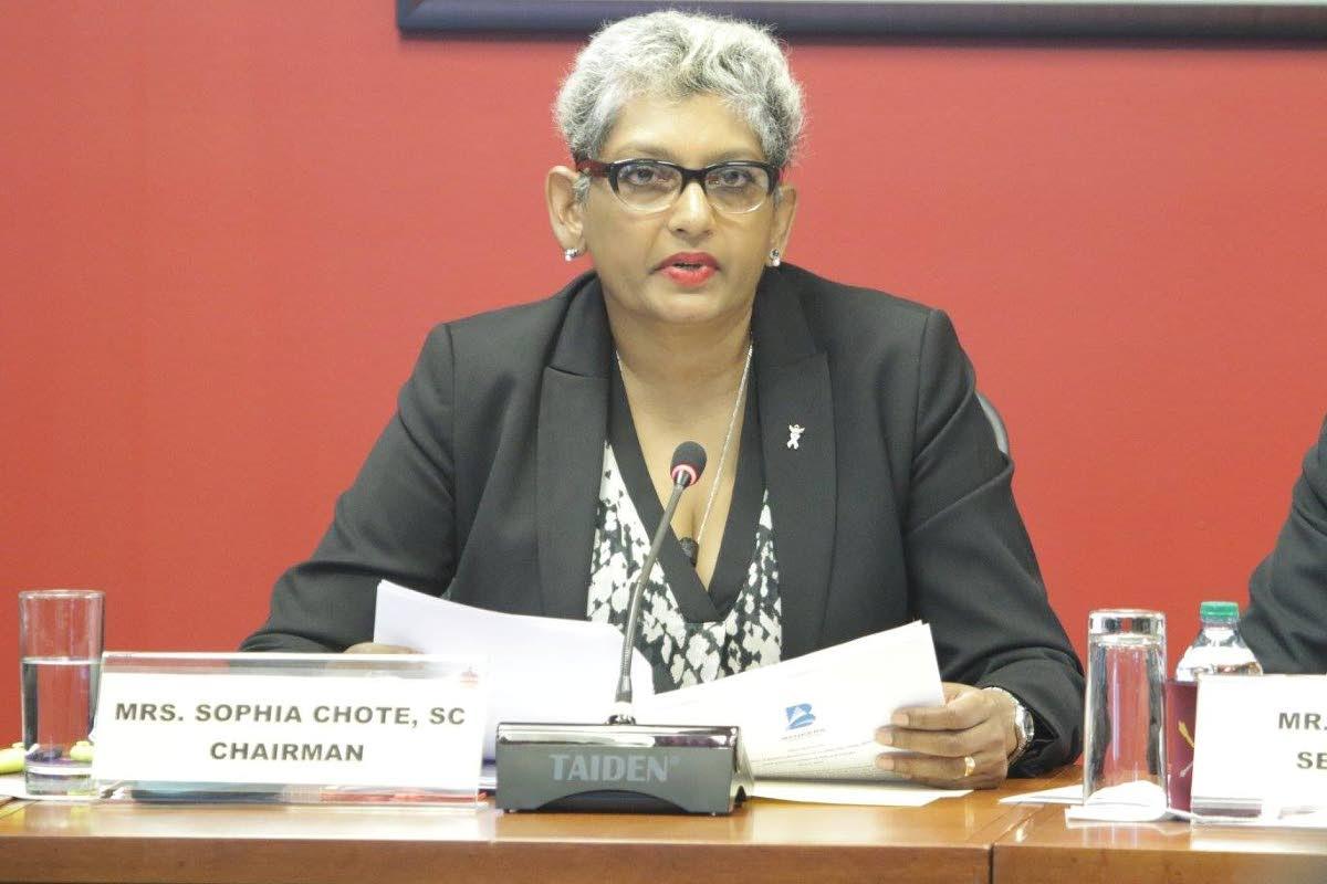 Independent Senator Sophia Chote