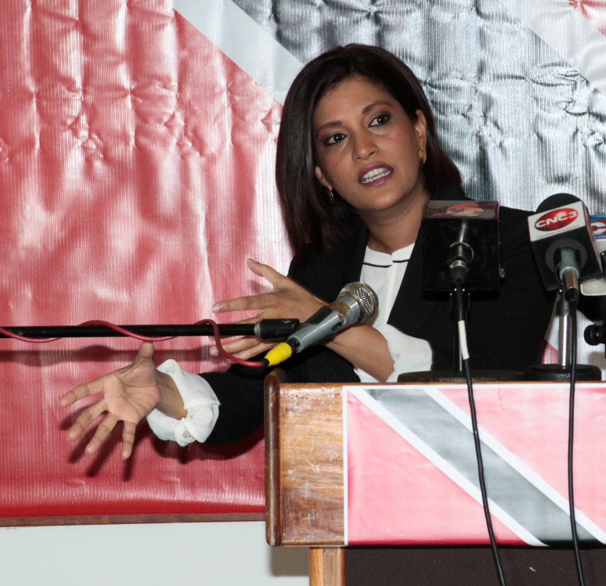 Attorney and former MP Mickela Panday.