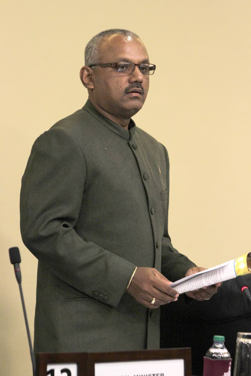 Couva South MP  Rudranath Indarsingh