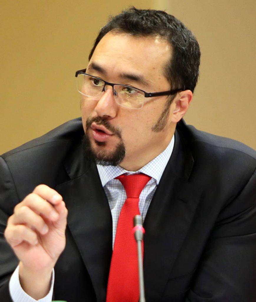 Minister Stuart Young.