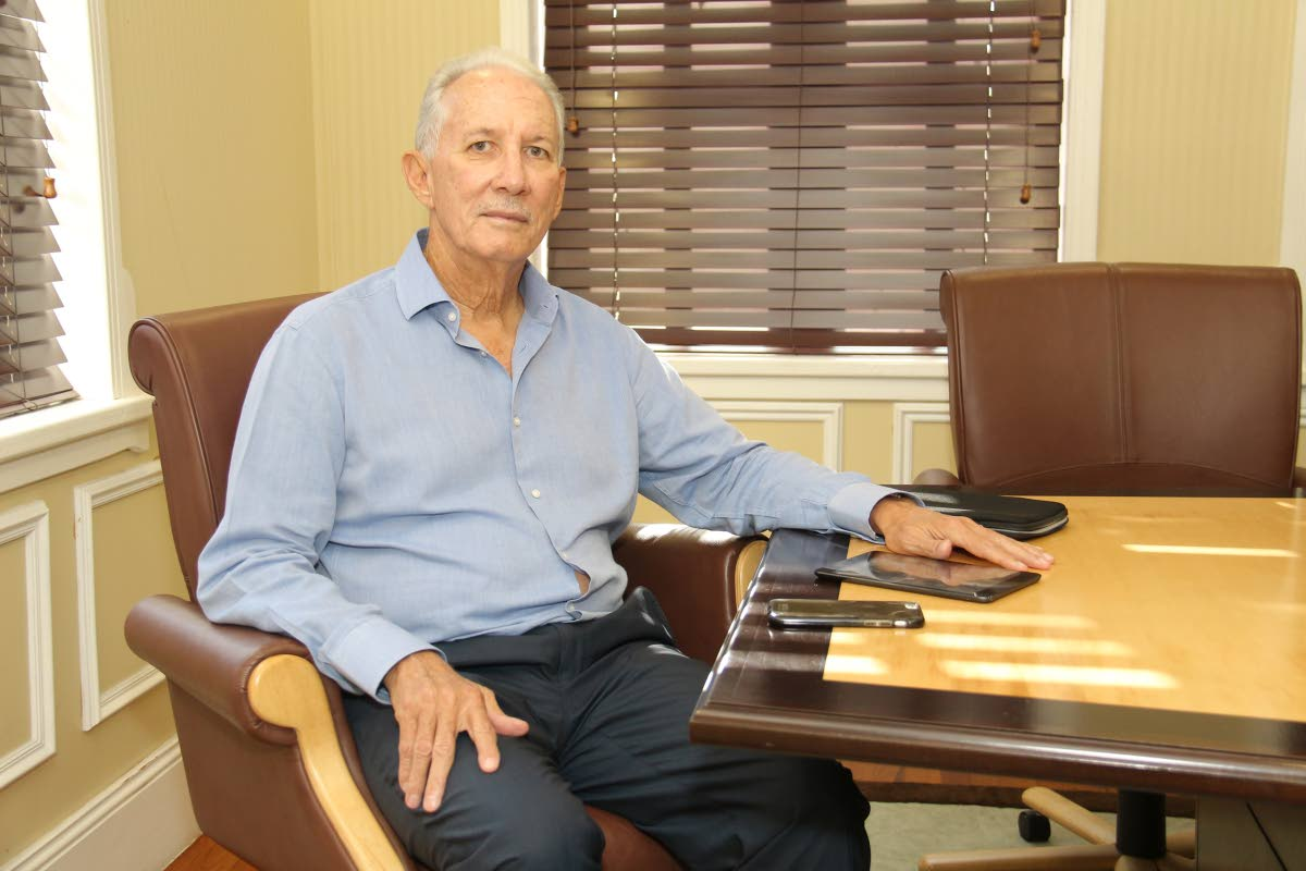 Petrotrin chairman Wilfred Espinet.