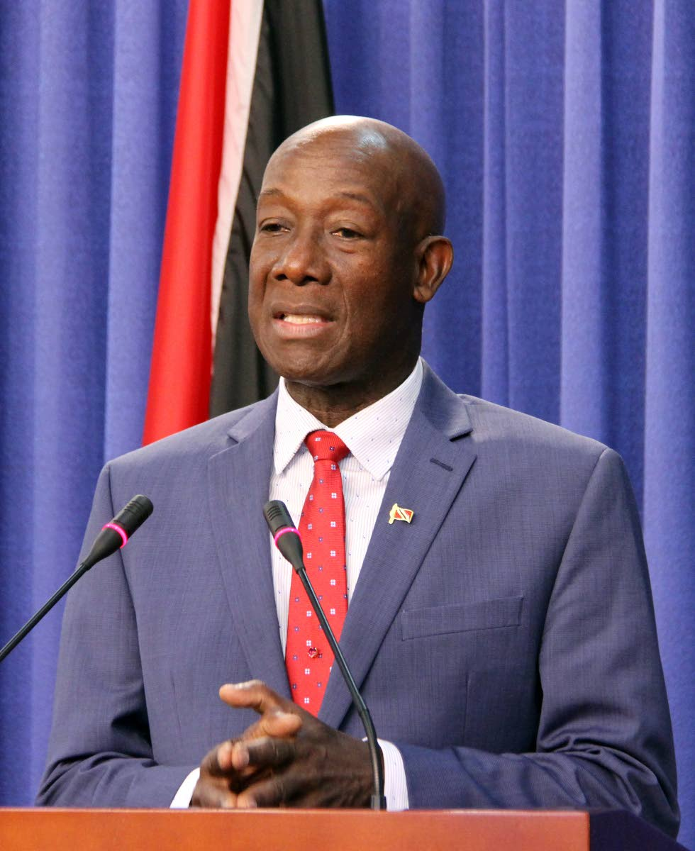 PM Dr Keith Rowley