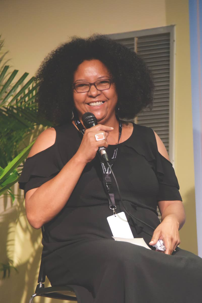 Lisa Allen-Agostini is a black female writer from Trinidad and Tobago. PHOTO COURTESY Kwame Boatswain