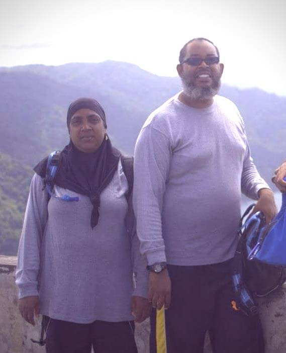 Anisa Mohammed, 53, and her husband Daud, 56