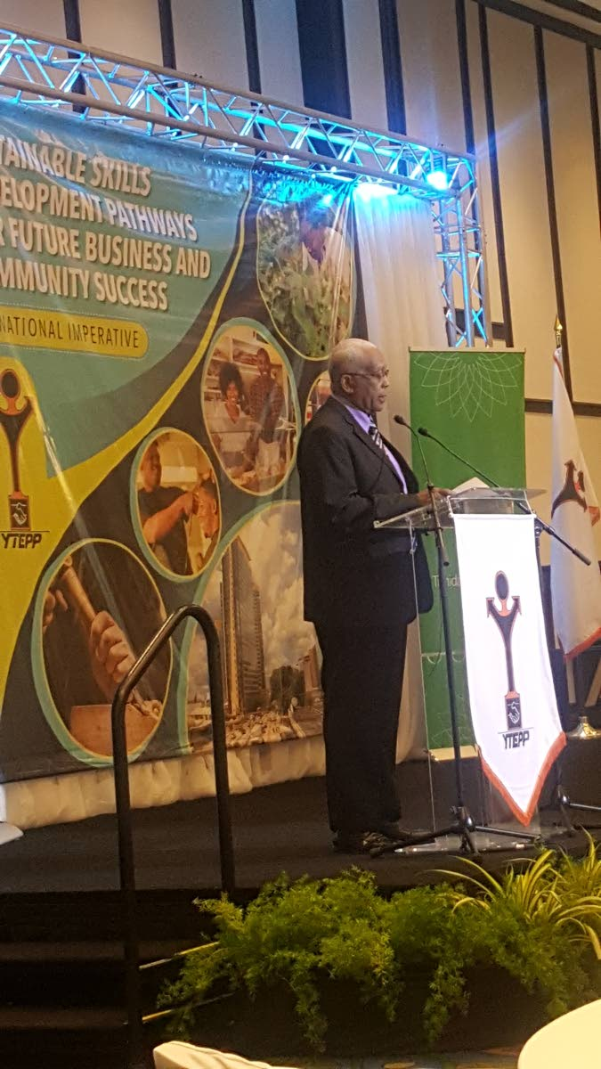 Minister of Education Anthony Garcia photo by Marlene Augustine