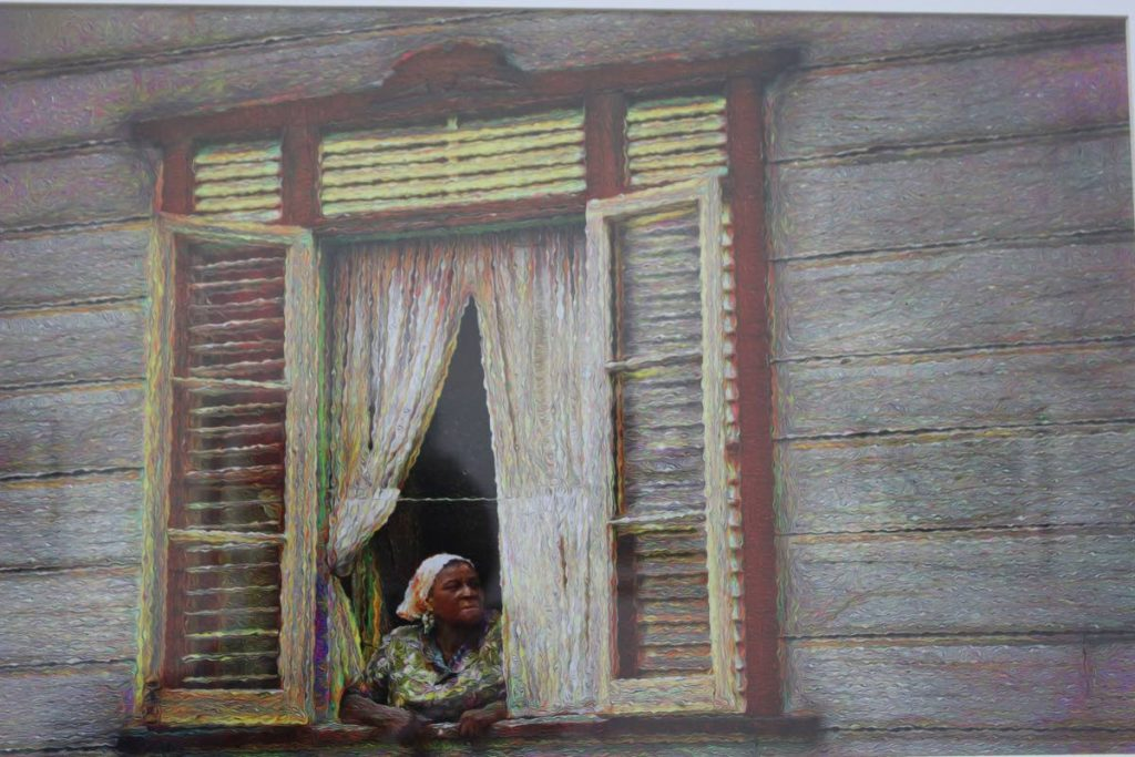 Chris Anderson's Rene's Window  is one of the photographs being exhibited at the National Museum and Art Gallery's exhibition: Through My Lens: To Trinidad and Tobago From Me. The exhibition runs from May 3 to June 16.