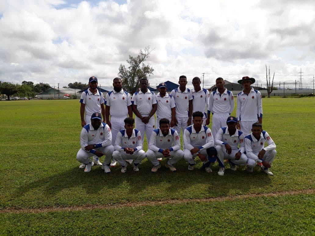 Members of the 2018 El Socorro Youth Movement (EYM) cricket team.