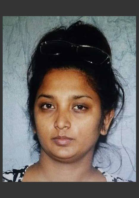 CHARGED: Sapna Chinyan, charged with wasting police's time.