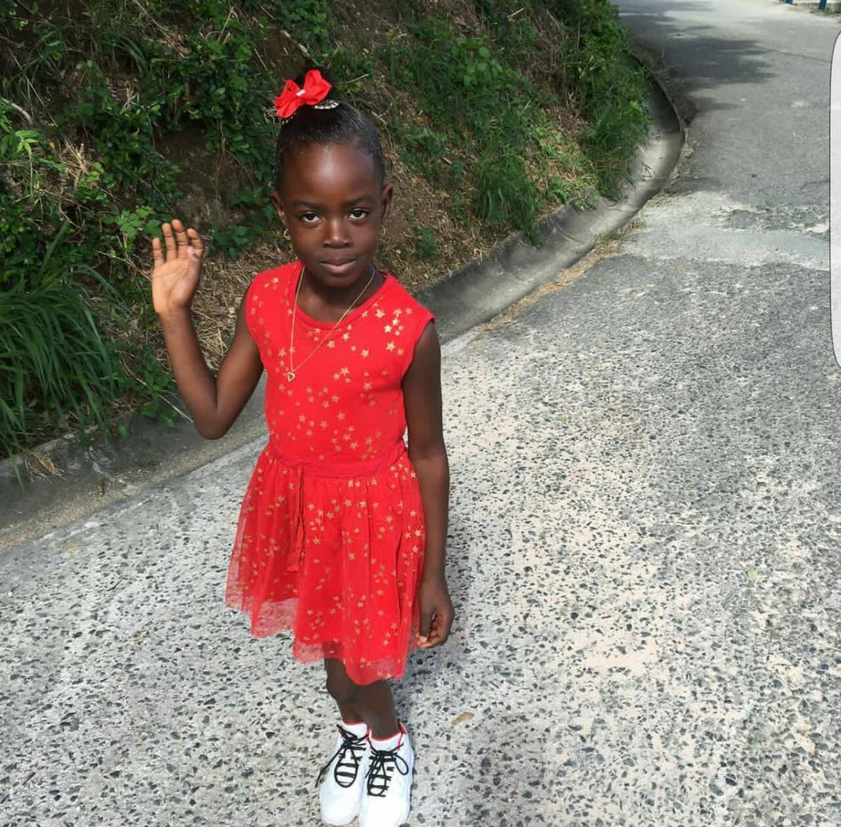 Zakiah Lorde who died after a tree branch fell on her.
