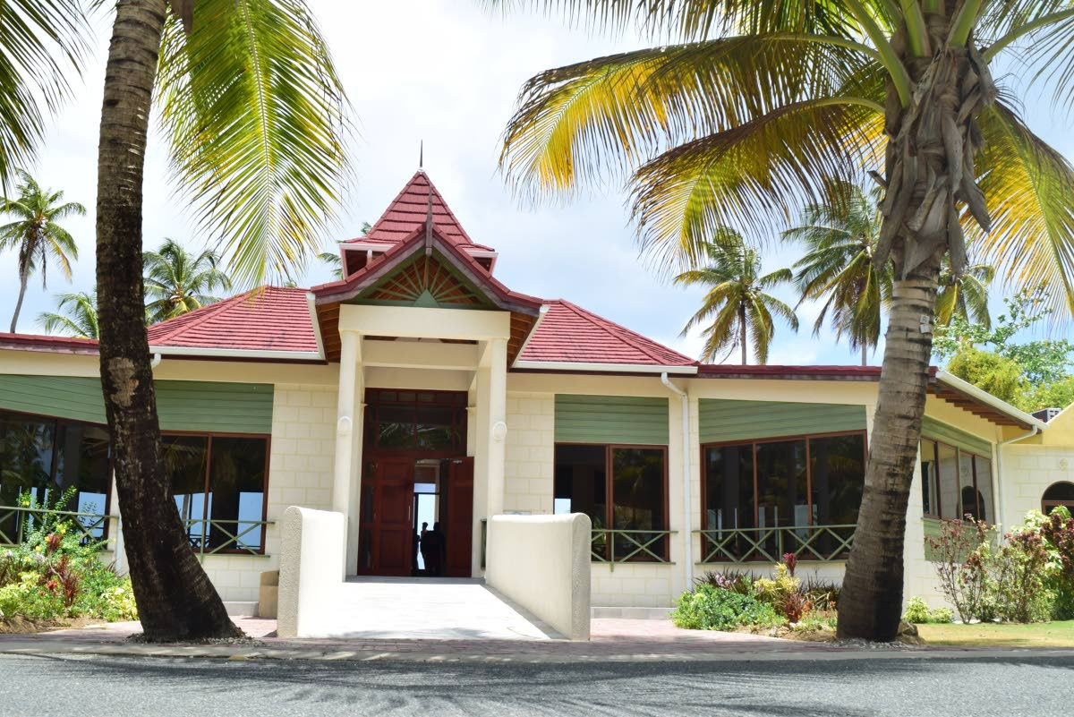 Heritage Pavilion, oneof the go-to venues for weddings in Tobago
