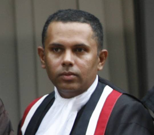 Justice Ronnie Boodoosingh who on Monday was elevated to the office of Justice of Appeal.  -