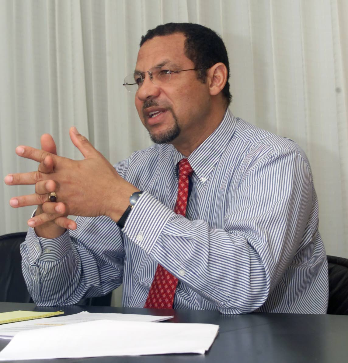 Mariano Browne, former minister in the Ministry of Finance under the Patrick Manning administration.