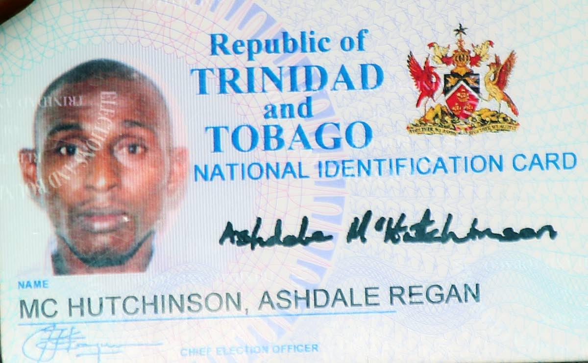 MURDERED: Ashdale McHutchinson